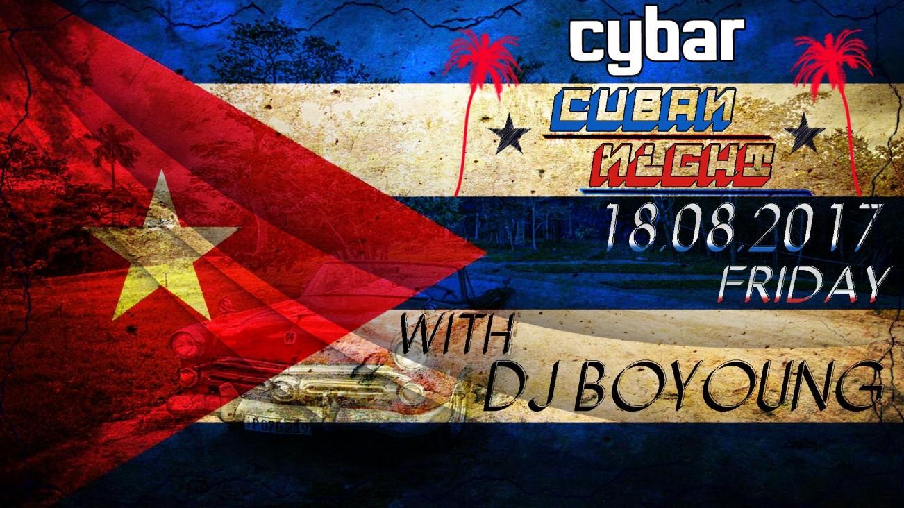 Cuban Night at Cybar