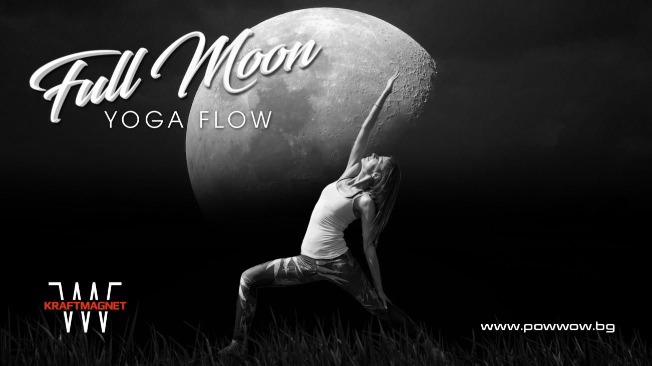 Full moon yoga flow