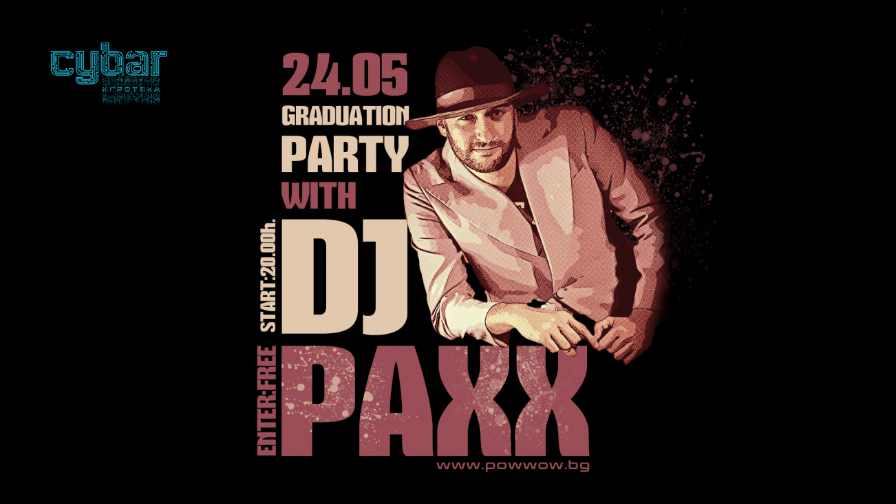 DJ Paxx in the house