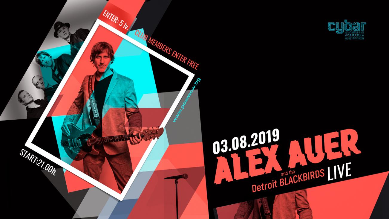 Alex Auer and The Detroit Blackbirds