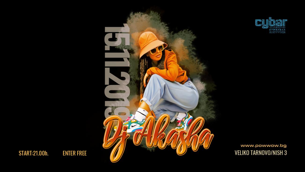 DJ Akasha at Cybar