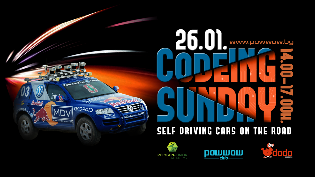 CodeINg Sunday - Self driving cars on the road