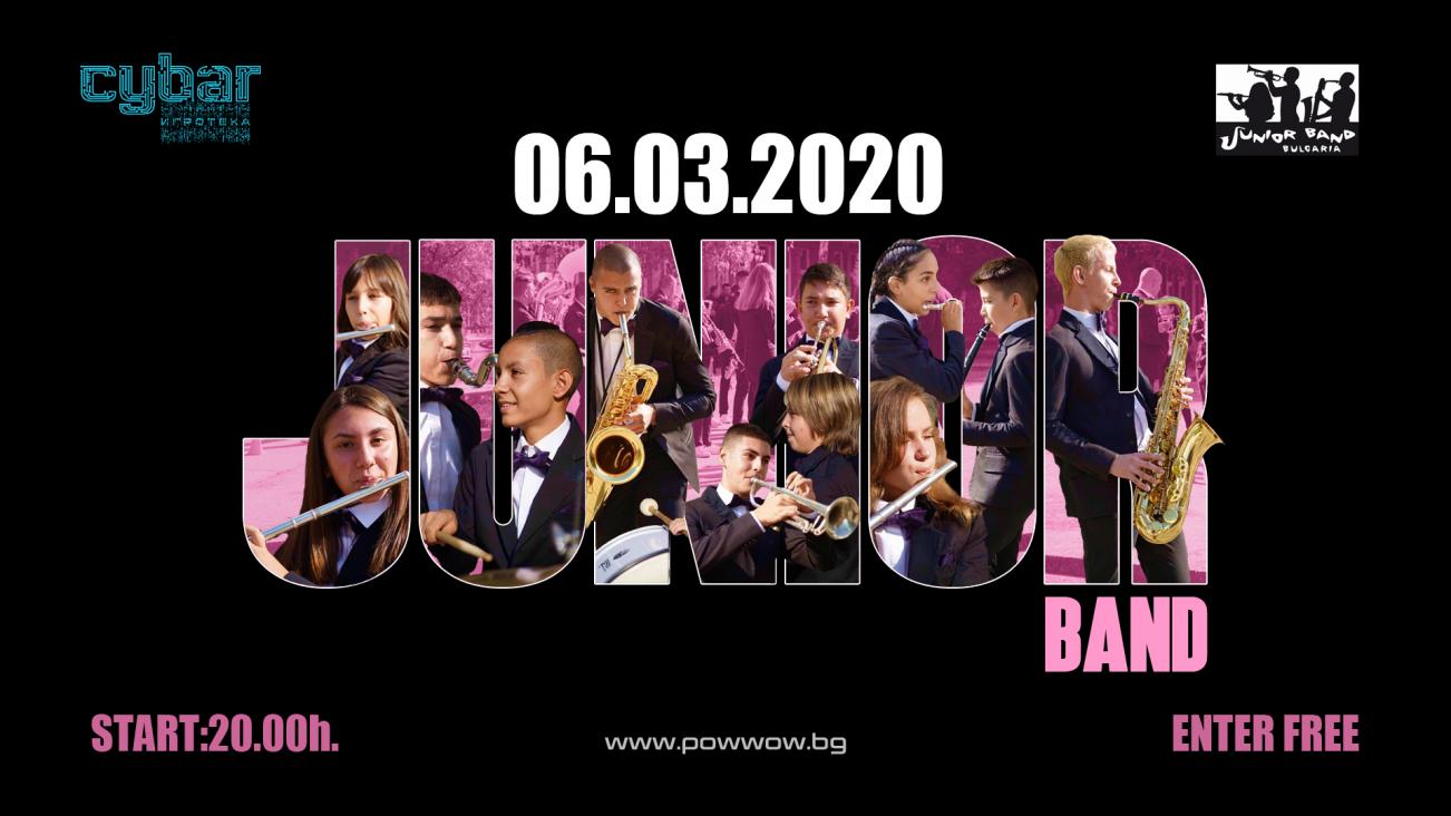 Junior Band at Cybar