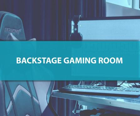 Backstage Gaming Room